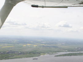 60 Min. Flugzeug selber fliegen in Dresden
