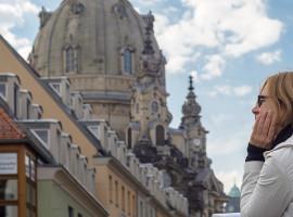 Schnitzeljagd in Dresden