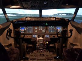90 Min. Flugsimulator Boeing 737 in Wiesbaden-Westend