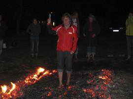Feuerlaufen in Essing im Altmühltal