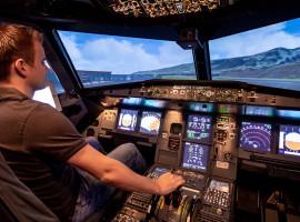 60 Min. Flugsimulator Airbus A320 in Bruchsal, Raum Karlsruhe