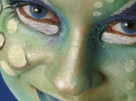Fotoshooting mit Körperfarbe Halle/Saale