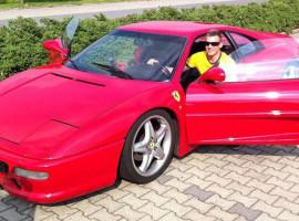 30 Min. Ferrari F355 GTB selber fahren in Frankfurt