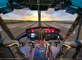 60 Min. Flugsimulator UH-1 in Frankfurt-Kalbach