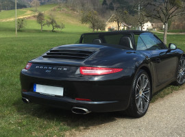 30 Min. Porsche 911 Cabrio selber fahren in Füssen