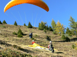 Gleitschirm Doppelsitzerflug in Bad Tölz, Oberbayern