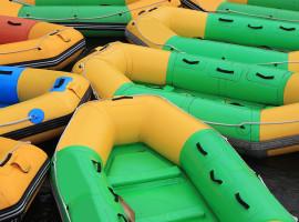 Rafting auf der Iller Gunzesried