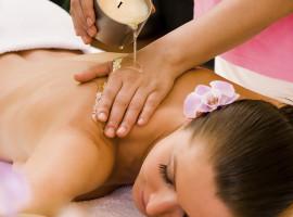 Kerzenöl Massage in Hannover