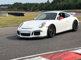 7 Runden Porsche GT3 selber fahren auf dem Racepark Meppen
