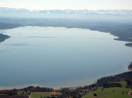 45 Min. Hubschrauber Rundflug über die 5 Seen in München ab Flugplatz Jesenwang