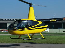 20 Min. Hubschrauber Privatrundflug ab Flugplatz Vilshofen