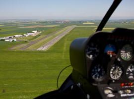 30 Min. Hubschrauber Pärchen Rundflug ab Flugplatz Vilshofen