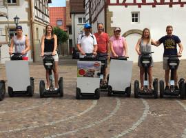 """2,5 Std. Segway-Tour """"Kloster Schönthal"""" in Jagsthausen"""