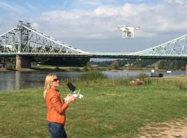 40 Min. Drohne selber fliegen in Strausberg