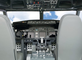 60 Min. Flugsimulator Boeing 737 in Karlsruhe