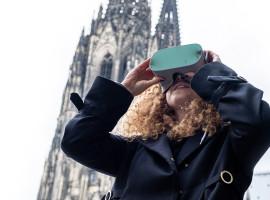 """90 Min. VR-Stadtführung """"damals und heute"""" in Köln-Alter Markt"""