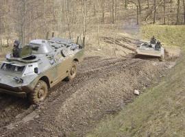 Radpanzer SPW40 fahren in Königsee