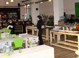 Moderne deutsche Küche in Dresden, Sachsen