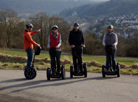 Segway-Tour mit GPS-Schnitzeljagd in Möckmühl