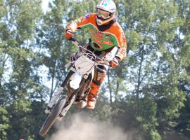 Motocross fahren in Wischuer, Raum Rostock