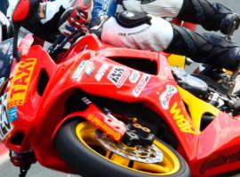 Motorrad-Renntaxi auf dem Eurospeedway Lausitz, Brandenburg