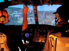 30 Min. Flugsimulator Hubschrauber Bell UH-1 Huey in München