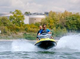 30 Min. Jetski fahren auf dem Rhein in Niederkassel-Rheidt