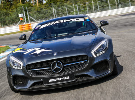 6 Runden Mercedes AMG GT selber fahren auf dem Bilster Berg