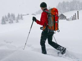 """Schneeschuhwanderung """"Schnuppertour"""" in Oberammergau"""
