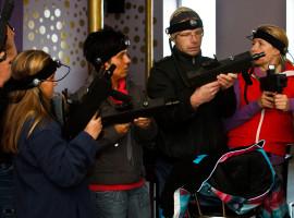 1,5 Std. Lasertag spielen für Kinder in Ohrdruf
