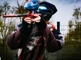 "Paintball spielen ""1000 Paintballs"" Olpe"