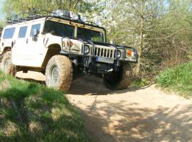 30 Min. Hummer H1 offroad selber fahren in Pelm