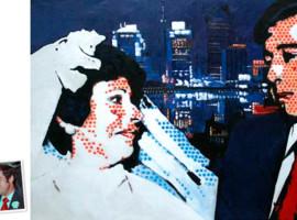 Pop Art Doppelportrait (60x50) nach Roy Lichtenstein München