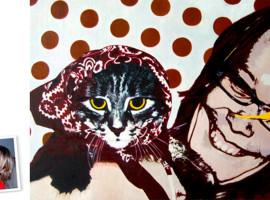 Pop Art Einzelportrait (120x90) nach Roy Lichtenstein München