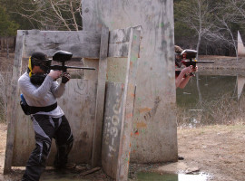 "Paintball spielen ""500 Paintballs"" Porta-Westfalica"