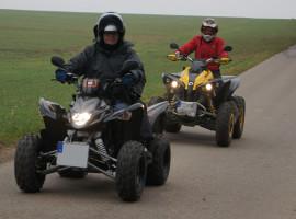 Quad Halbtagestour Beifahrer Zeitlarn