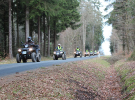 "Quad Tour ""Halbtagestour"" am Nürburgring in Nachtsheim"