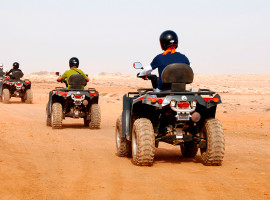 Quad Tour in Lenggries, Raum München in Bayern