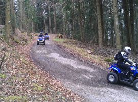 "Quad Tour ""Schnuppertour\"" in Hegau am Bodensee"