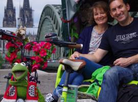 Rikscha-Picknicktour in Köln