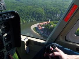 20 Min. Heli selber fliegen ab Flugplatz Rothenburg o.d. Tauber