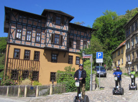 """2 Std. Segway Tour """"Natur und Kultur"""" in Rudolstadt"""