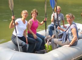 Trabitour mit Schlauchboot Tour Ruhlmühle