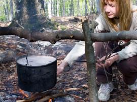 Wildkräuter Lagerfeuer Kochkurs in Ruppichteroth