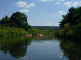 Schlauchboot-Tour Karsdorf