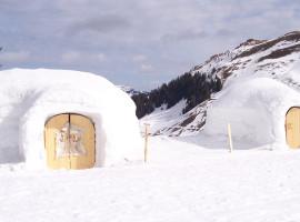 Iglu bauen in Schneizlreuth