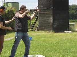 Schrotflinte schießen in Heide, Raum Rendsburg