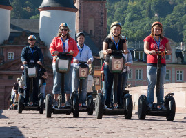 Segway-Tour in Oftersheim, Raum Heidelberg