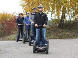 Segway-Tour in Vogtsburg, Raum Freiburg in Baden-Württemberg