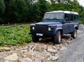 2 Std. Landrover Defender selber fahren in Sinsheim